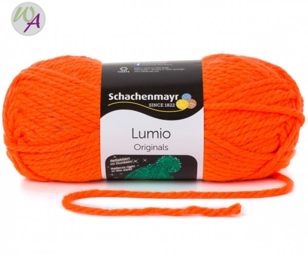 Schachenmayr Lumio 0025 neon orange