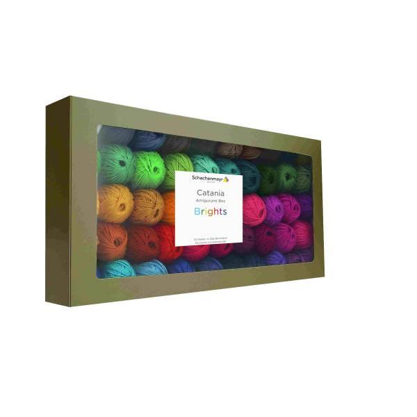 Schachenmayr Baumwolle Catania BOX01 Strahlende Farben