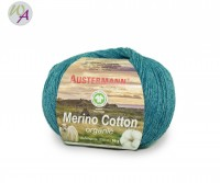 Austermann® Merino Cotton organic Farbe 14 lagune
