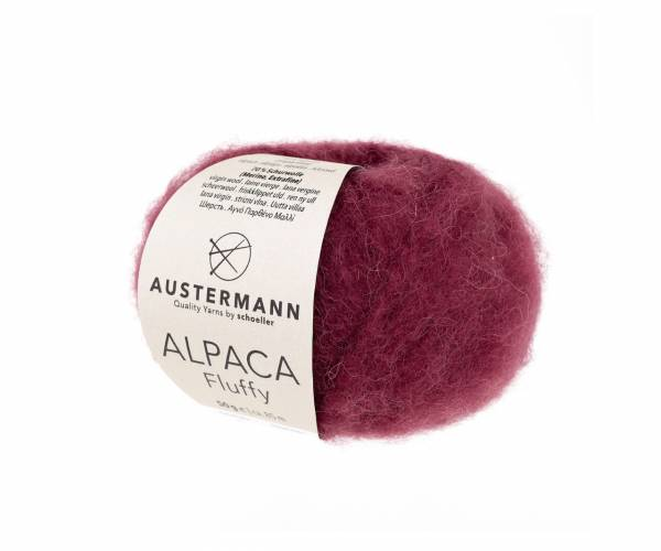 Austermann Alpaca Fluffy 12 beere