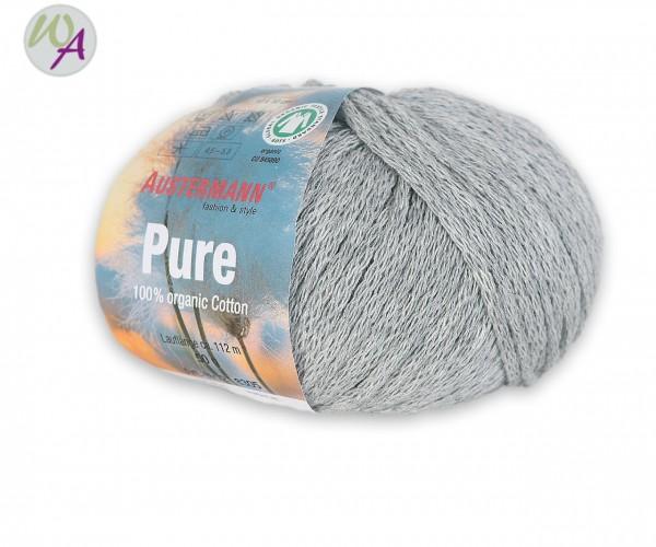 Austermann Pure Farbe 0006 graumeliert