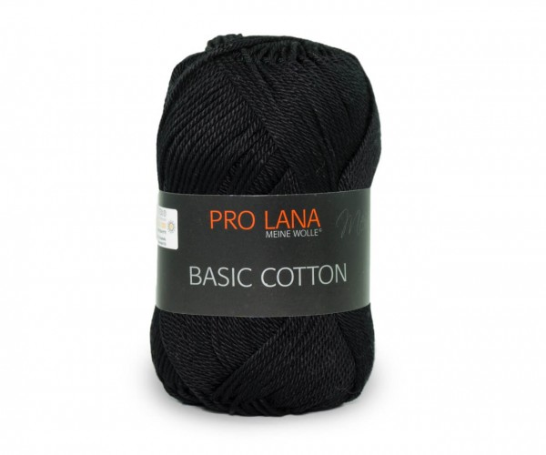 Pro Lana Basic Cotton 99 schwarz