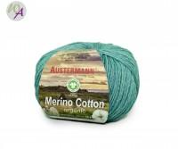 Austermann® Merino Cotton organic Farbe 13 türkis