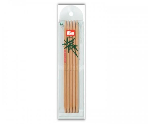 Strumpfstricknadel Bambus 20 cm Prym
