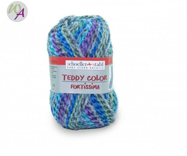 Schoeller + Stahl Fortissima TEDDY Color Farbe 109 lagune