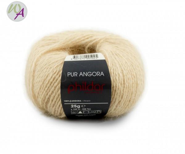 Pur Angora Phildar Wolle 2264 Naturel