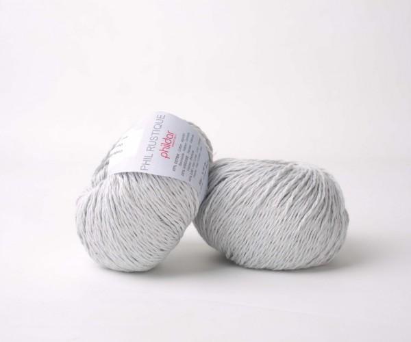 Phil Rustique Phildar Wolle 0082 - Perle