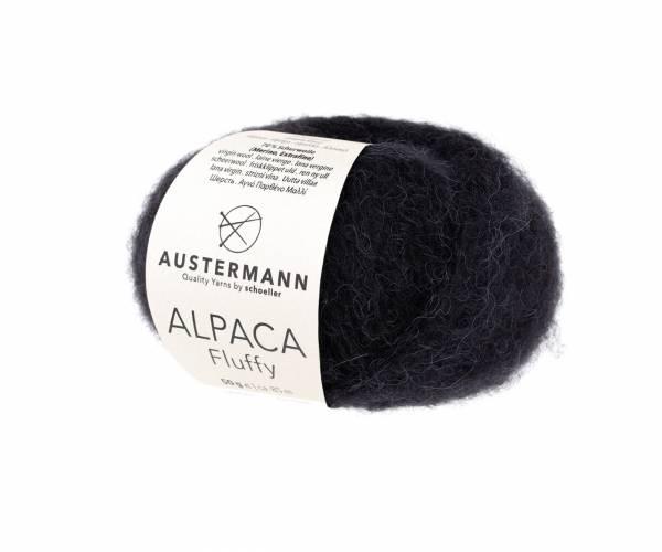 Austermann Alpaca Fluffy 02 schwarz