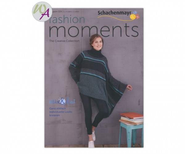 Schachenmayr Magazin 24 fashion Moments