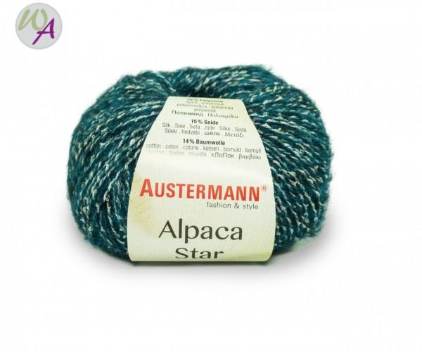 Austermann Alpaca Star Farbe 0006 petrol