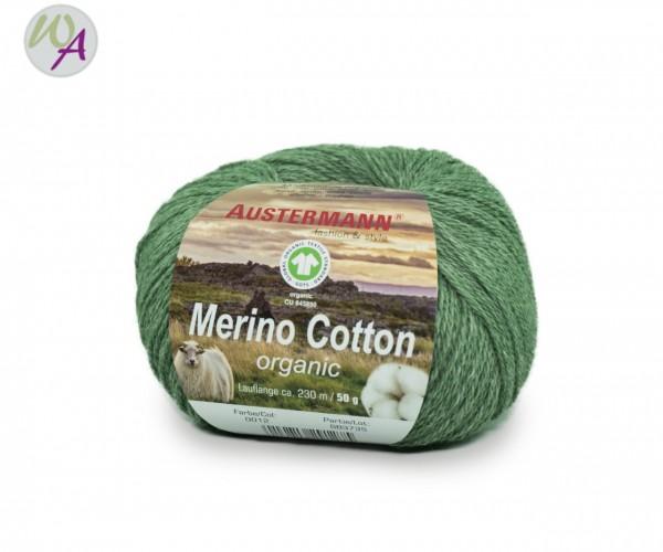 Austermann® Merino Cotton organic Farbe 12 grün