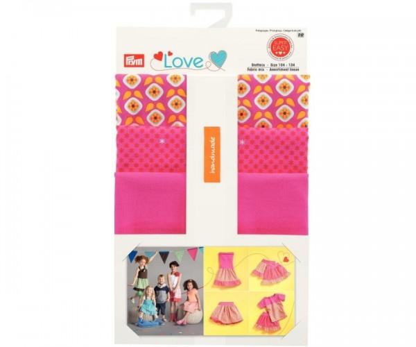 Prym Love 931701 Stoffmix gelb-pink