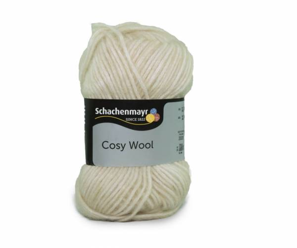 Schachenmayr Cosy Wool 0002 creme