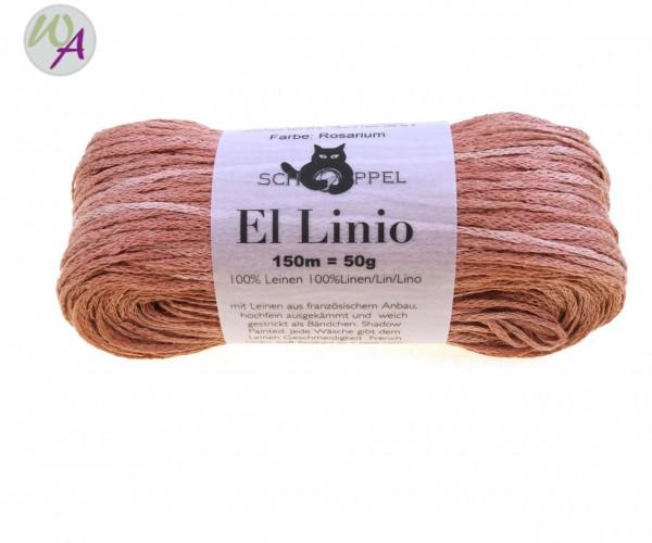 Schoppel Wolle El Linio Farbe 2346 - Rosarium