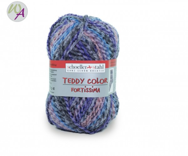 Schoeller + Stahl Fortissima TEDDY Color Farbe 115 violett