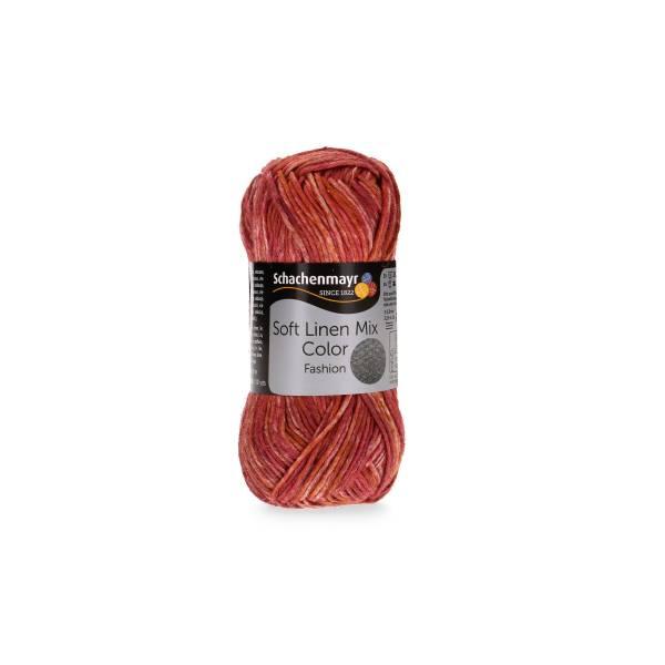 Schachenmayer Soft Linen Mix Color 0083 ziegel color