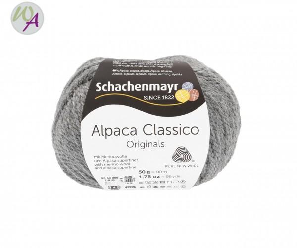 Schachenmayr Alpaca Classico Farbe 0094 kiesel mélange