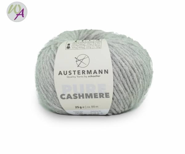 Austermann® Cashmere Pure 06 silbermeliert