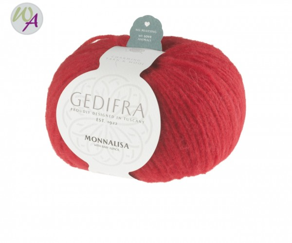 Gedifra Monnalisa Farbe 0709 rot