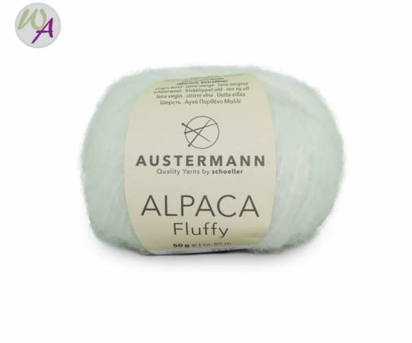 Austermann Alpaca Fluffy 01 wollweiß