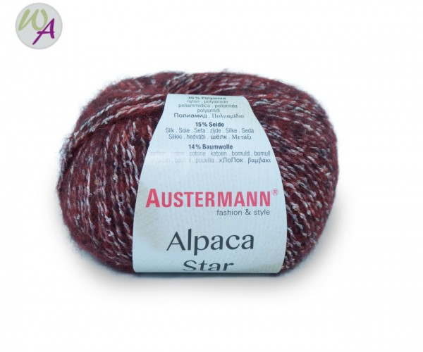 Austermann Alpaca Star Farbe 0004 bordeaux