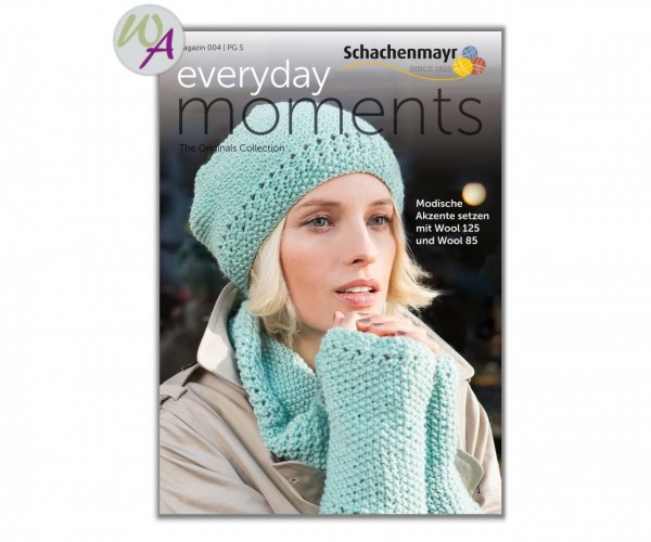 Everyday Moments 004 Schachenmayr Strickanleitung Wool 125 und Wool 85