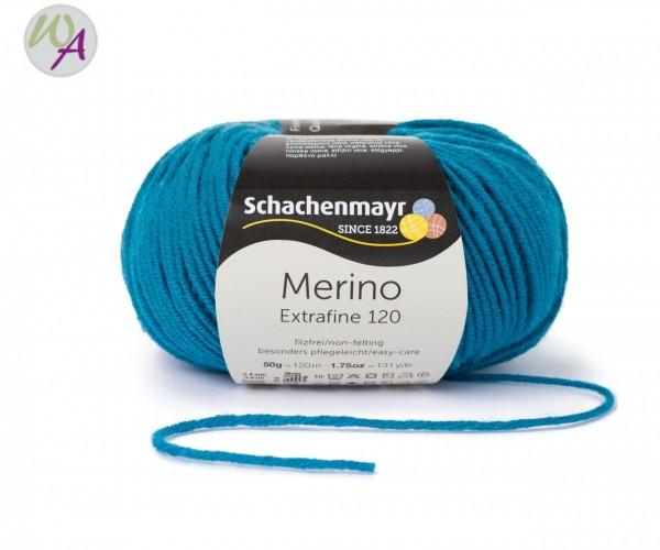 Merino Extrafine 120 Farbe 169 petrol