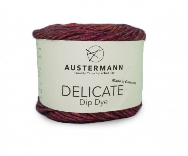 Austermann® Delicate Dip Dye 0004 feuer-purpur