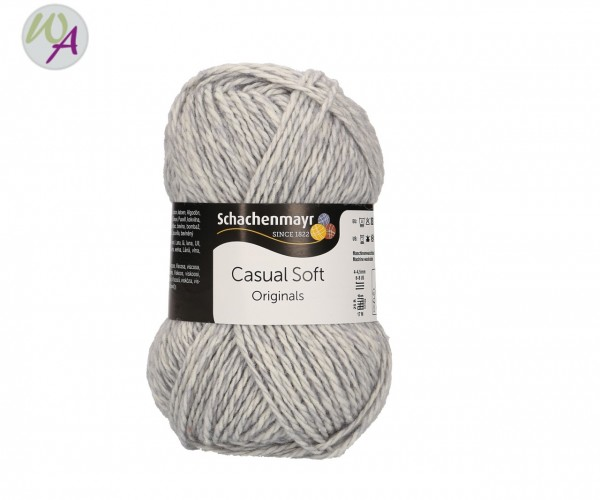 Schachenmayr Casual Soft Farbe 0090 silber