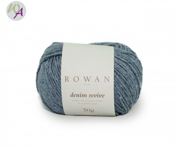 Rowan Denim Revive color 212 airforce