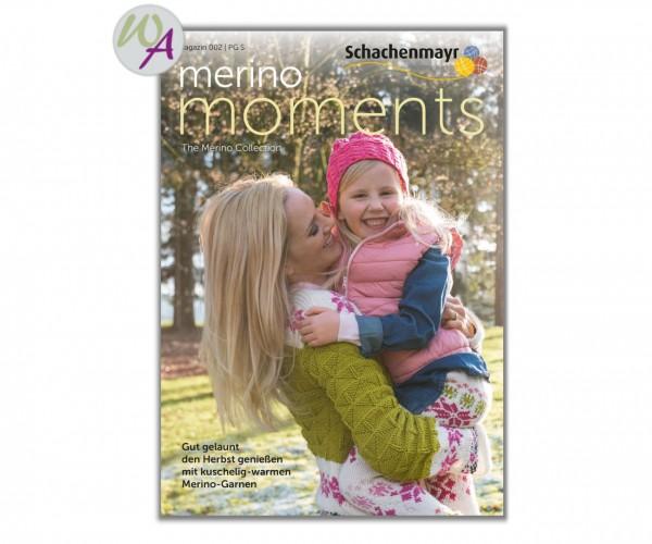 Merino Moments 002 Schachenmayr Strickanleitung Merino Extrafine 40, 85, 120, 170,