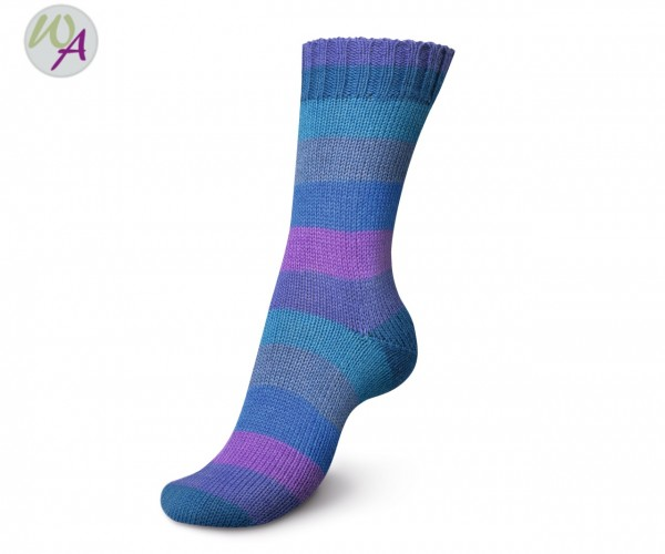 Regia Rainbow Color 100g 1733 - blue color