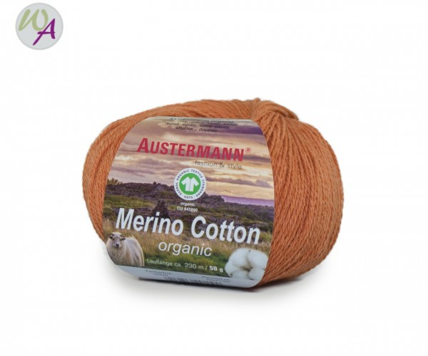 Austermann® Merino Cotton organic Farbe 08 orange