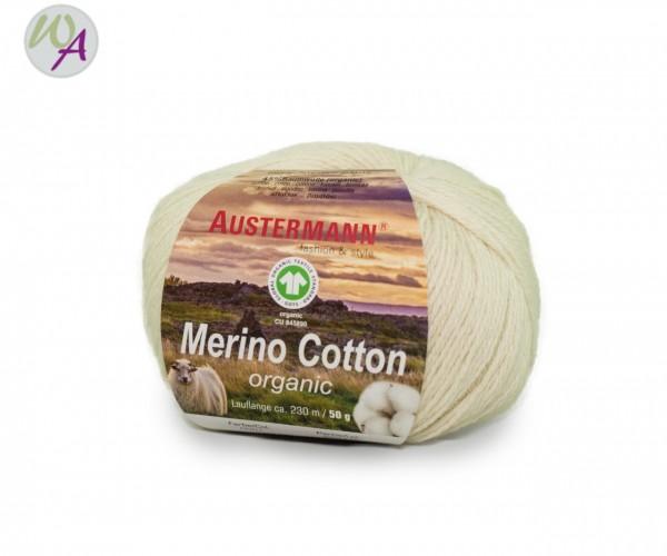 Austermann® Merino Cotton organic Farbe 01 natur