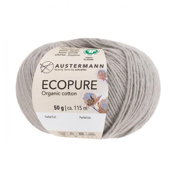Ecopure Austermann Wolle 020 silber