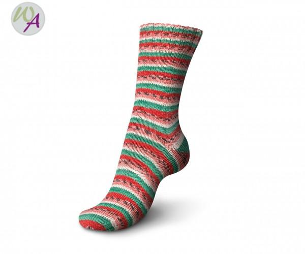 Regia Tutti Frutti 2 Cotton Color Socke 2421 watermelon color