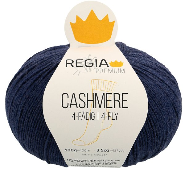 Regia Premium 100g Cashmere 0058 evening blue