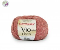 Vio Linen Austermann® Wolle 0004 kirsch