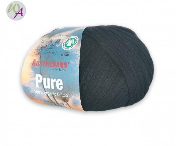 Austermann Pure Farbe 0002 schwarz