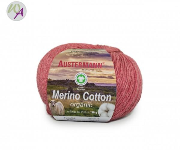 Austermann® Merino Cotton organic Farbe 06 pink