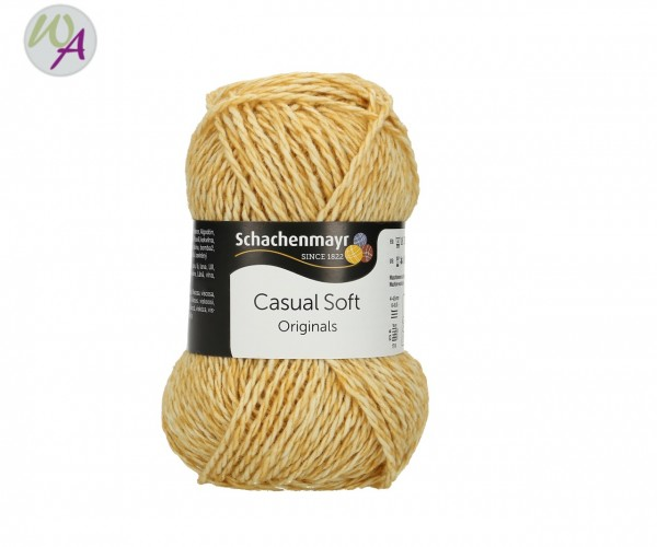 Schachenmayr Casual Soft Farbe 0025 mustard