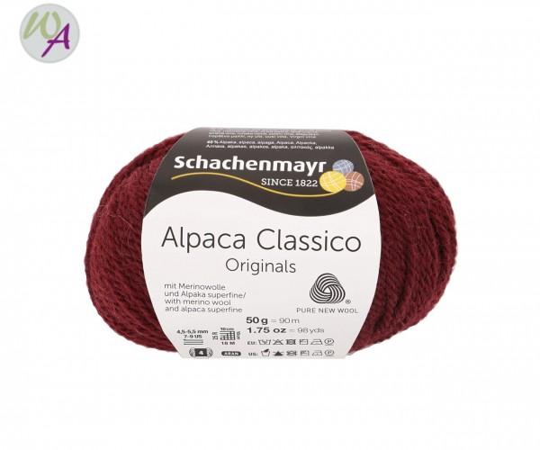 Schachenmayr Alpaca Classico Farbe 0032 bratapfel