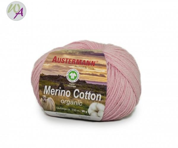 Austermann® Merino Cotton organic Farbe 05 rose
