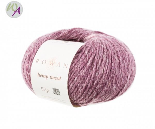 Hemp Tweed Rowan Farbe 0145 mauve