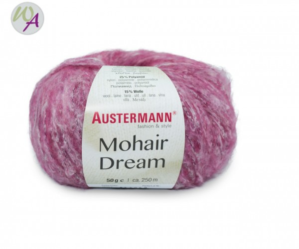 Austermann Mohair Dream 0007 pink