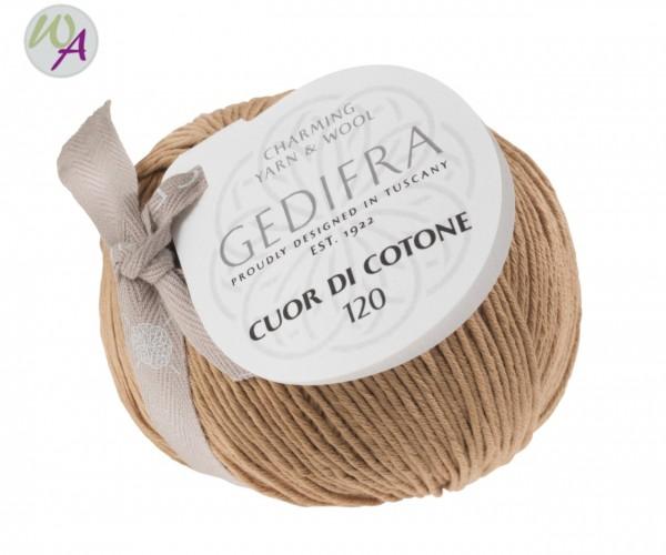 Cuor di Cotone 120  - Farbe 1052 kamel