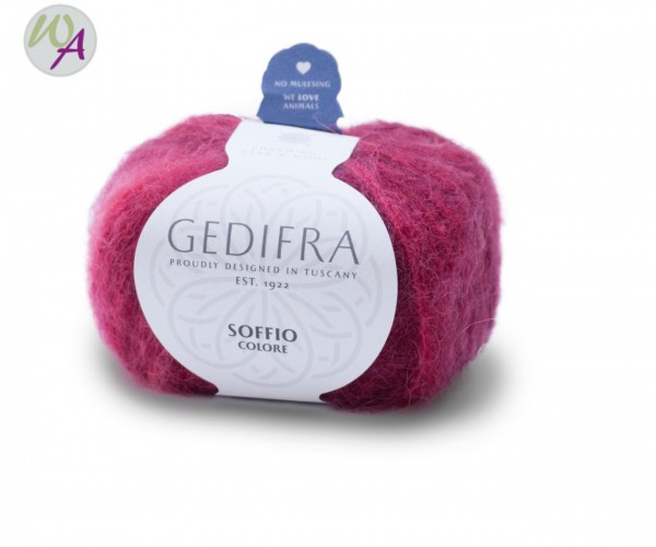Gedifra Soffio Colore Farbe 653 Rot-Rosa-Color