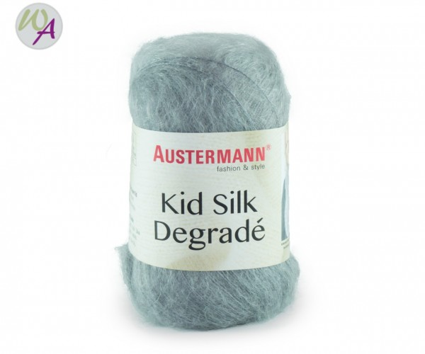 Kid Silk Degrade Austermann 0106 - silber