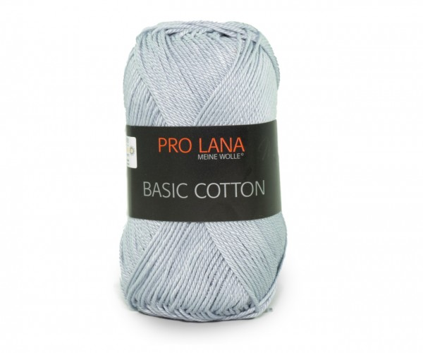 Pro Lana Basic Cotton 91 silbergrau
