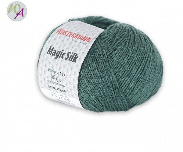 Austermann Magic Silk Farbe 0006 lorbeer